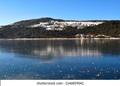 Lake Abant (Turkish: Abant Gölü) is a freshwater lake in Turkey's Bolu Province in northwest Anatolia.