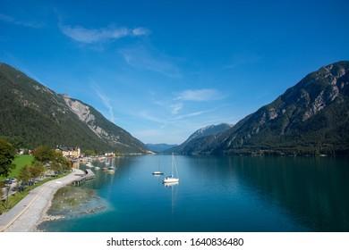 Lake Achensee in austrian Tyrol