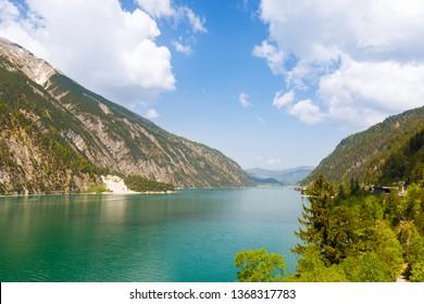 Lake Achensee at Pertisau, Austria