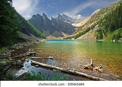 Lake Agnes, Lake Louise, Banff National Park, Alberta, Canada