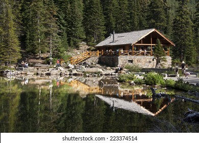 Lake Agnes Tea House, Lake Louise, Banff National Park, Alberta, Canada