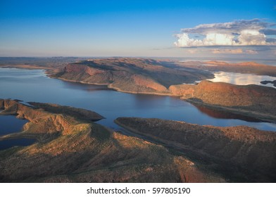 Lake Argyle landscape view, Kimberley, Australia, outback