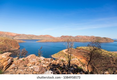 Lake Argyle is Western Australia's largest and Australia's second largest freshwater man-made reservoir by volume. The reservoir is part of the Ord River Irrigation Scheme