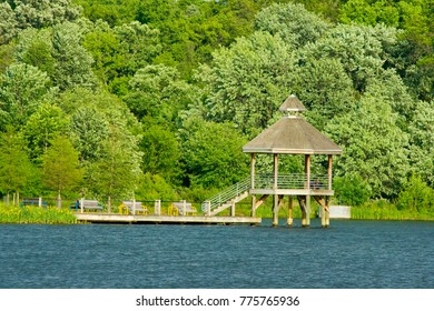 Lake Artemesia, College Park, Maryland in Spring