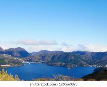 Lake Ashinoko in Hakone