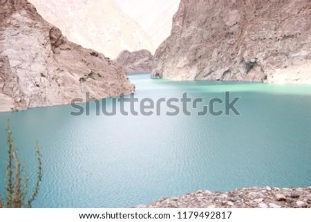 lake attaabad lake