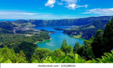 Lake Azul on Sao Miguel, Azores