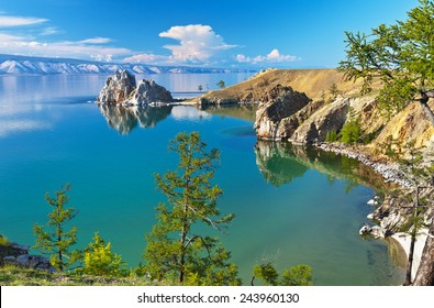 Lake Baikal. Olkhon Island in the summer