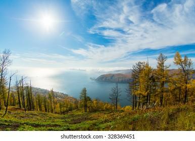 Lake Baikal,   stone, Listvyanka