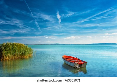 Lake Balaton on a sunny day