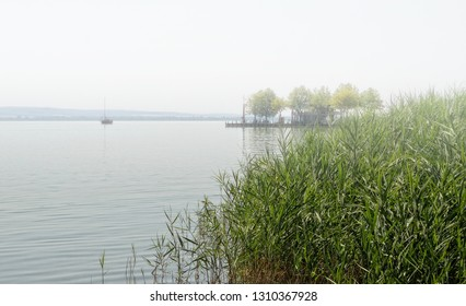 Lake Balaton in summer time, Hungary ( Keszthely )