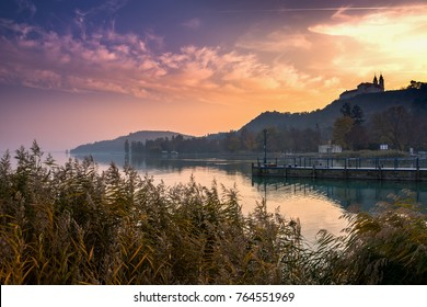 Lake Balaton Tihany sunset