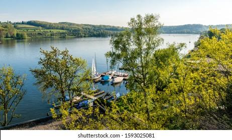 Lake Baldeneysee in Essen Germany