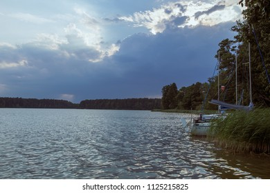 lake before the storm