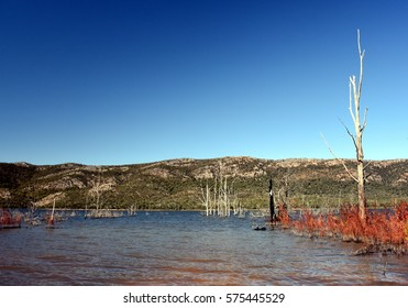 Lake Bellfield in the Grampians National Park Victoria Australia.