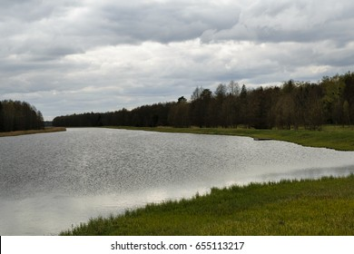Lake in Belovezhskaya Pushcha, Belarus
