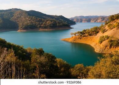 Lake Berryessa in Northern California