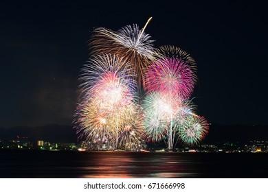 Lake Biwa Fireworks Festival