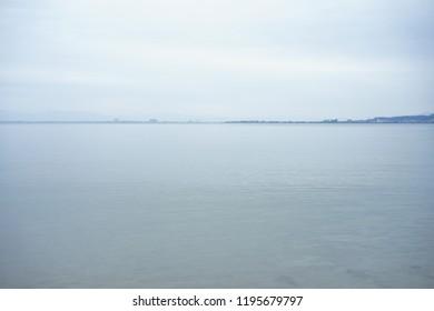 Lake Biwa in Japan