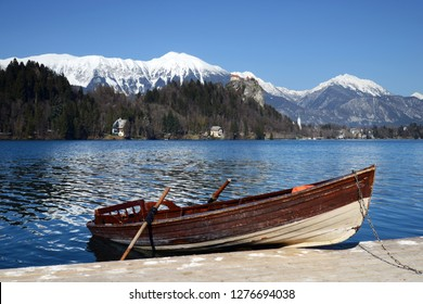 Lake Bled Julian Alps - Slovenia