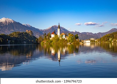 Lake bled is one of fairy tale location in beautiful country of Slovenia