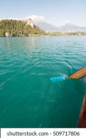 Lake Bled, sparkling emerald