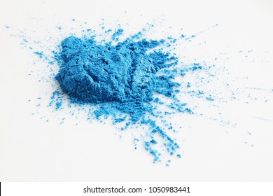 The lake blue mica powder is a kind of non metallic minerals.