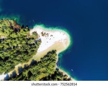 Lake Bohinj Aerial