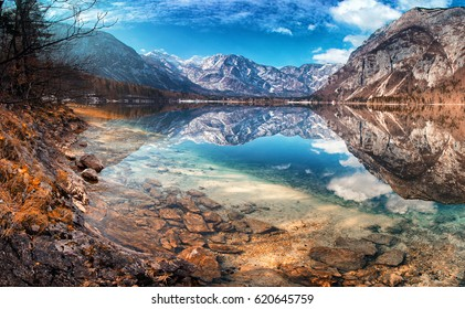 Lake Bohinj, Triglav National Park, Julian Alps