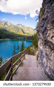 Lake Braies in summer