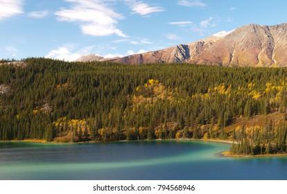 Lake in British columbia, Canada