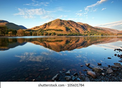 Lake Buttermere, Lake District Cumbria England