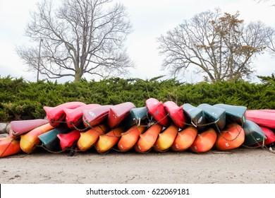 Lake Calhoun boats, Minneapolis Minnesota.