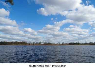 Lake called Belversven, part of a forest area called Kampina near the village of Oisterwijk in the Netherlands