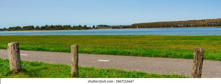 lake  called Veerse Meer. Wholphaartsdijk, The Netherlands - Shutterstock ID 1867116667