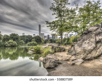 At the Lake in Central Park, New York City
