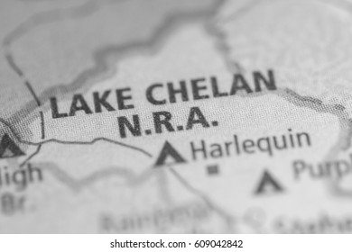 Lake Chelan NRA. Washington. USA
