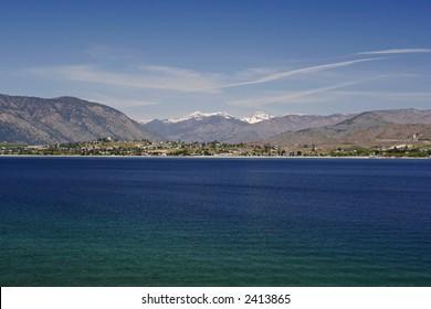 Lake Chelan, Washington State, USA
