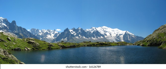 Lake of Cheresys, Chamonix, France