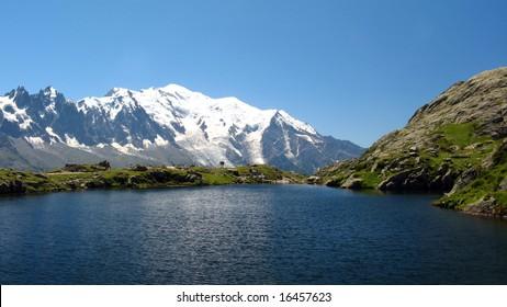 Lake of Cheserys, Haute Savoie, France