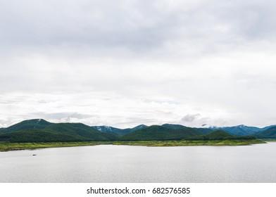 Lake in Chiangmai , Thailand