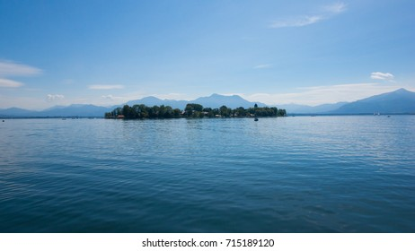 Lake Chiemsee, Bavaria, in summer