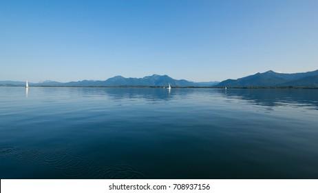 Lake Chiemsee in Summer