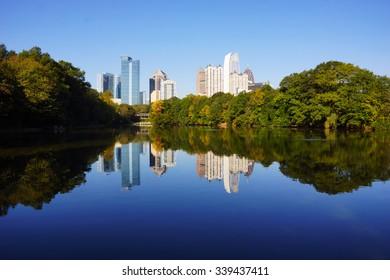 Lake Clara Meer, Piedmont Park, Atlanta, GA