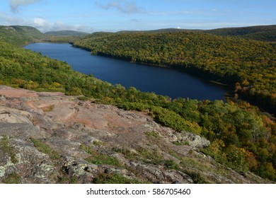Lake of the Clouds at Porcupine Mountains Wilderness State Park in Michigan's Upper Peninsula.