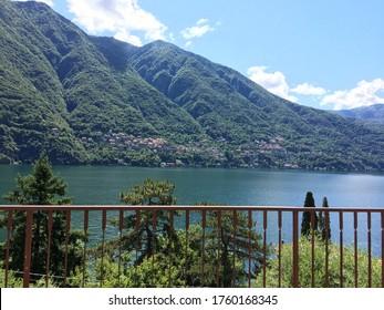 Lake Como in June 2020
