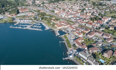 Lake of Como, little port and village of Colico