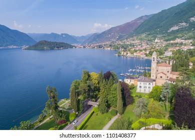 Lake of Como, Tremezzo. Tourist destination