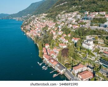 Lake of Como, village of Carate Urio
