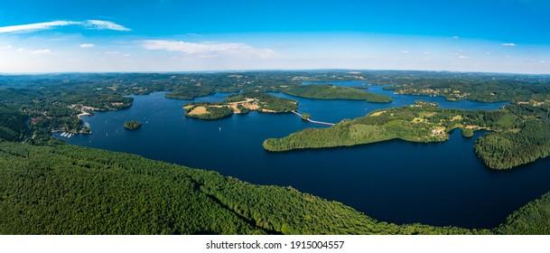 Lake Vassivière - Creuse - Haute Vienne - France